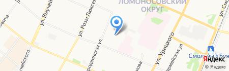 ПС на карте Архангельска