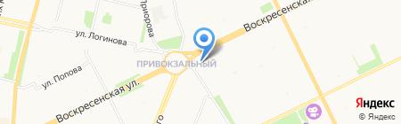 Банкомат ЮниКредит Банк на карте Архангельска