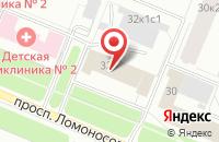 Схема проезда до компании Федерация айкидо Поморья в Архангельске