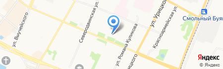 Адвокатский кабинет Бозова А.А. на карте Архангельска