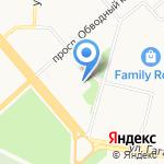 Средняя школа №5 с дошкольным отделением на карте Архангельска