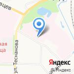 Архангельская областная клиническая стоматологическая поликлиника на карте Архангельска
