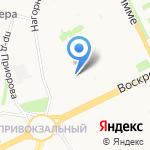Детский сад №66 на карте Архангельска
