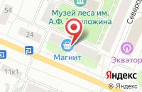 Схема проезда до компании Фото-Коп в Архангельске