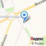 Матрёшка на карте Архангельска