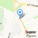 TATAU на карте Архангельска