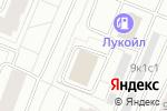 Схема проезда до компании Производственная компания в Архангельске