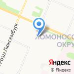 ТрансСтрой на карте Архангельска
