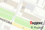 Схема проезда до компании Ломоносовская коллегия адвокатов г. Архангельска в Архангельске