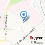 Продовольственный магазин №36 на карте Архангельска