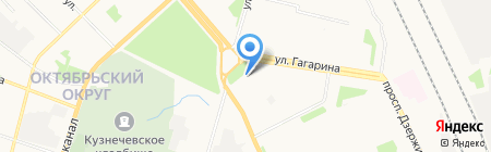 ArhService на карте Архангельска