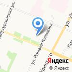 Приморская территориальная избирательная комиссия на карте Архангельска