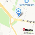 Бетон-Архангельск на карте Архангельска