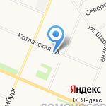 СМАРТ на карте Архангельска
