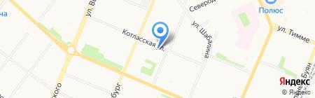 Граунд на карте Архангельска