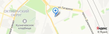 Архангельские металлоконструкции на карте Архангельска