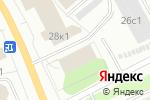 Схема проезда до компании Время-Сервис в Архангельске