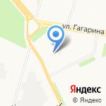 Симфония-Текс на карте Архангельска
