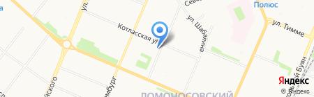 СиЭс Медика-Поморье на карте Архангельска