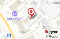 Схема проезда до компании Проспект Промоушен в Архангельске