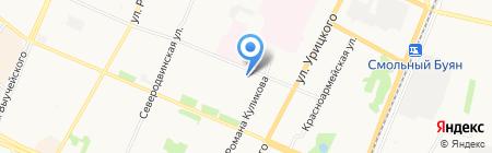 Прокуратура Архангельской области на карте Архангельска