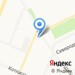 Дачник на карте Архангельска