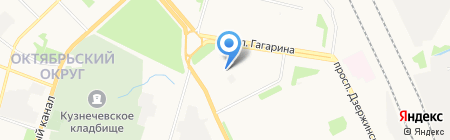 Garage 29 на карте Архангельска