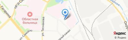 АвтоМастер на карте Архангельска