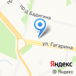 Альтаир на карте Архангельска