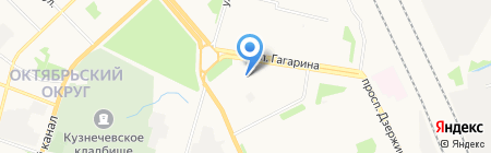 Start на карте Архангельска