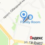 Ирбис-Л на карте Архангельска