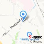 Автолэнд на карте Архангельска
