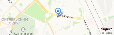 От чистого сердца на карте Архангельска