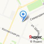 ЭНЕРГО СОЮЗ на карте Архангельска