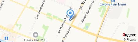 Общеобразовательная гимназия №21 на карте Архангельска