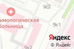 Схема проезда до компании Офтальмологическая Лазерная Клиника в Архангельске