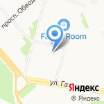 Пожарная часть №1 на карте Архангельска