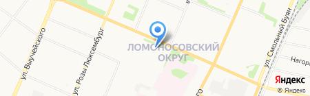 CMD на карте Архангельска