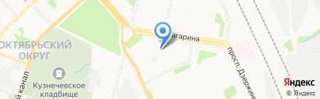 Эволюция на карте Архангельска