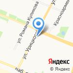 Магазин цветов и подарков на карте Архангельска