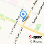 Гимназия №21 на карте Архангельска