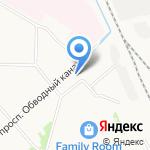 Триалог на карте Архангельска