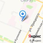 Архстройпроект на карте Архангельска