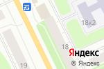 Схема проезда до компании BabyFit29 в Архангельске
