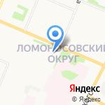Поводок на карте Архангельска