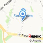 Магазин кондитерских изделий на карте Архангельска