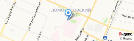 Молочная кухня на карте Архангельска
