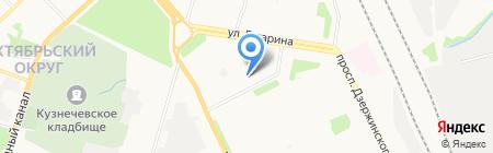 Регион-Монтаж на карте Архангельска