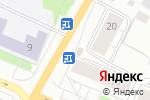 Схема проезда до компании Продовольственный магазин в Архангельске