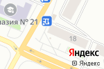 Схема проезда до компании Здоровье и милосердие в Архангельске